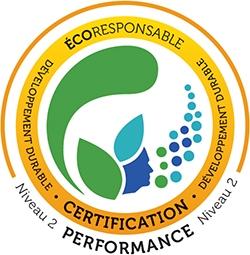 Certification écoresponsable en développement durable niveau 2 de Igloofest